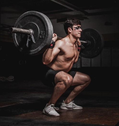 exercice jambes squat