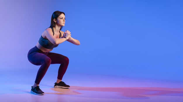 exercice musculation femme squat